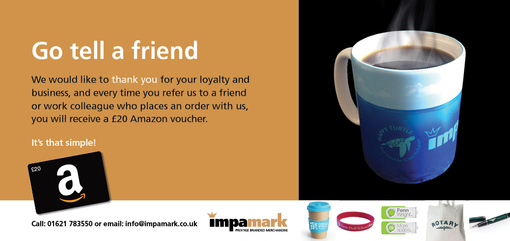 Refer a friend image - If you cannot see the image please enable remote images or follow this link - https://vtiger.impamark.co.uk/phplist/uploadimages/files/2018/09-September/Refer-a-friend.jpg