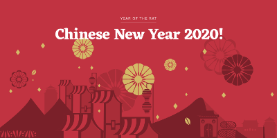Chinese New Year 2019! Year of the Rat