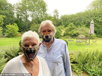 Dame Judy Dench Face Mask